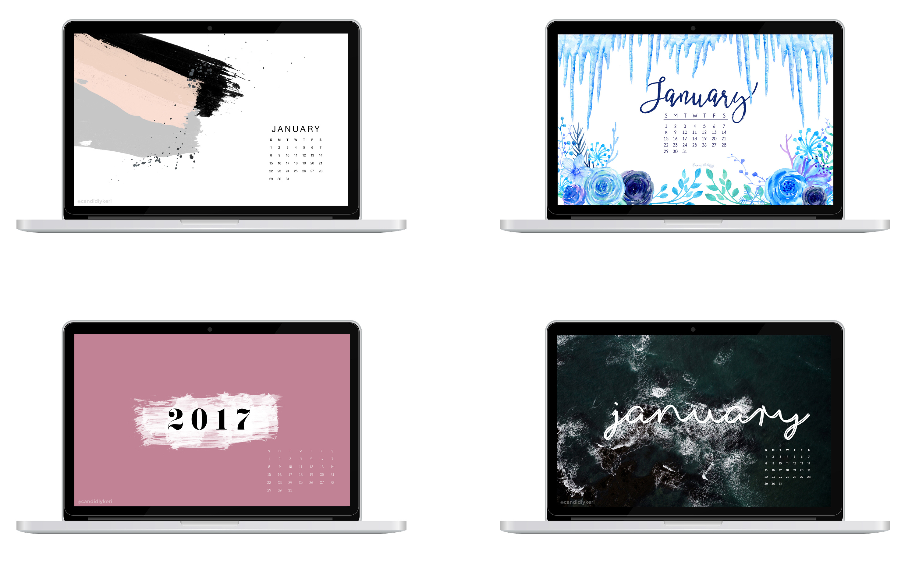 desktop wallpaper january 2017 free chic new year desktop-wallpaper-januar-january-2017